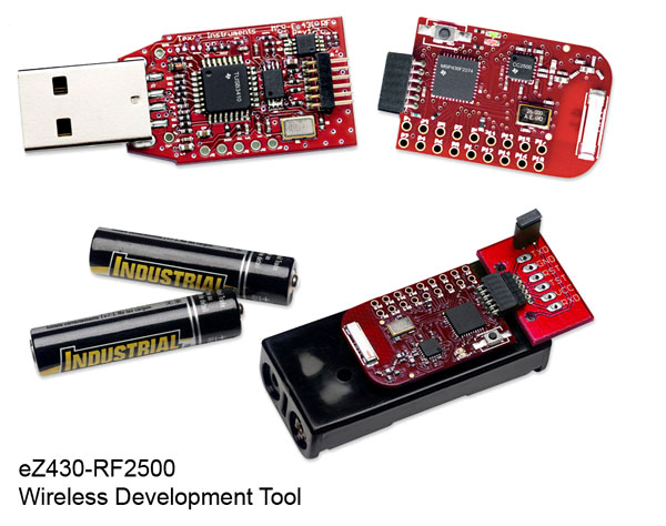 MSP430 RF development board