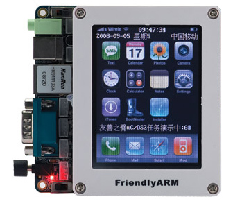 mini2440 arm9 development board